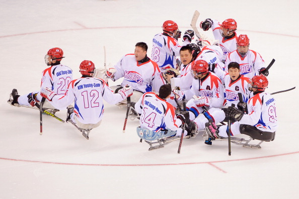 South Korea defeated Sweden to win the Ice Sledge Hockey World Championships B-Pool ©Getty Images
