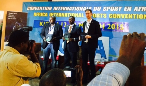 Speakers at the CISA Convention in Kigali ©ITG