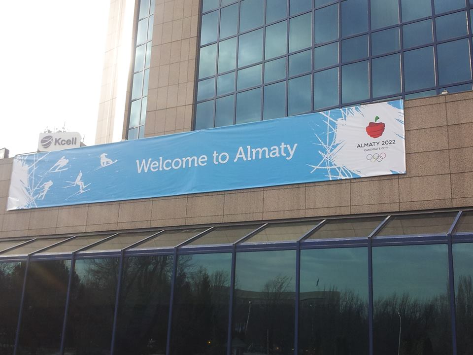 Almaty, Kazakhstan's largest city, is currently bidding for the 2022 Winter Olympics and Paralympics ©ITG