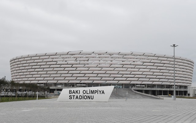 The newly-constructed National Stadium in Baku will host only the Third League of the European Team Athletics event during the European Games ©President of Azerbaijan