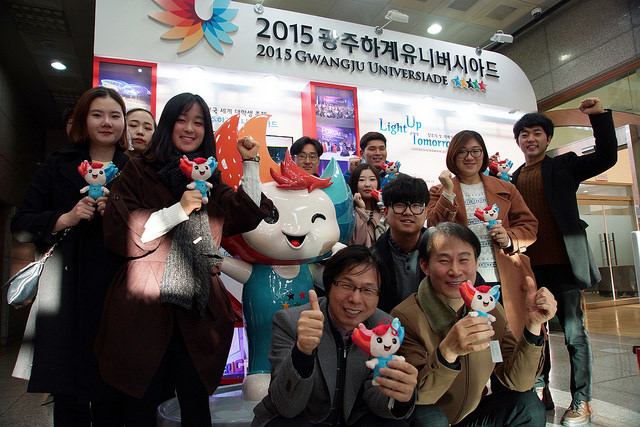 Excitement is mounting about Gwangju 2015 with the Games less than 100 days away ©Gwangju 2015