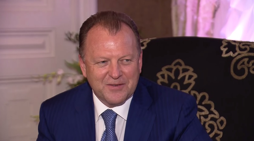 Marius Vizer has said sport is the definition of his life ©YouTube