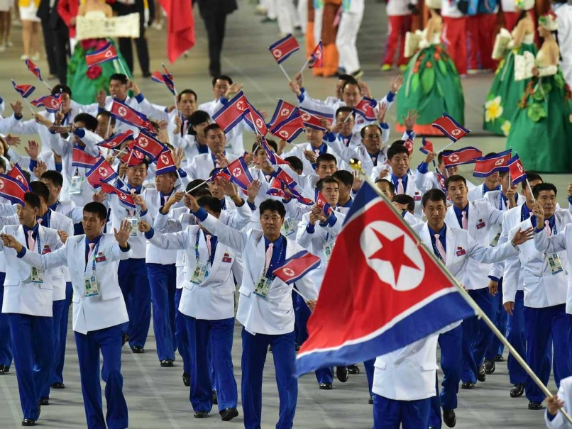 North Korea competed at the 2014 Asian Games in Incheon ©AFP/Getty Images