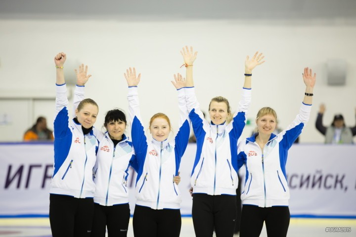 Russia's women made the final of the curling thanks to an 8-2 thrashing of Croatia  ©Ugra 2015