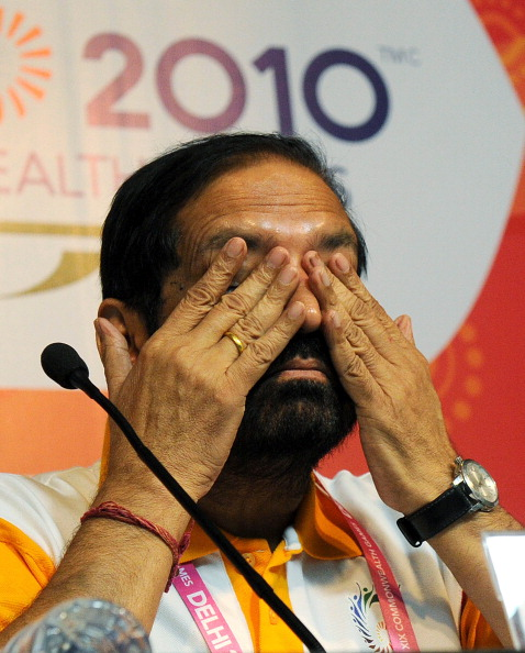 Suresh Kalmadi, the former Delhi 2010 Commonwealth Games chairman, was among several Indian officials to be charged with criminal conspiracy, cheating and corruption ©Getty Images