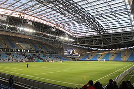 The Astana Arena National Stadium would be a key part of any 2026 World Cup bid ©Wikipedia