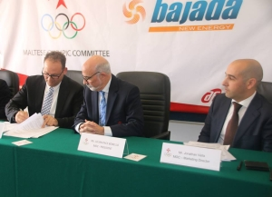The Maltese Olympic Committee has signed a two-year sponsorship agreement with Bajada New Energy ©MOC