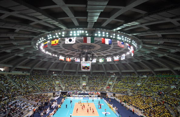 The Maracanãzinho will host the finals of the men's and women's volleyball, in which Brazil have high hopes of success ©Getty Images