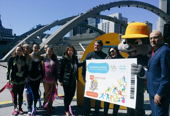The Toronto 2015 Pan American Games will begin with the Opening Ceremony on July 10 ©Toronto 2015/Twitter