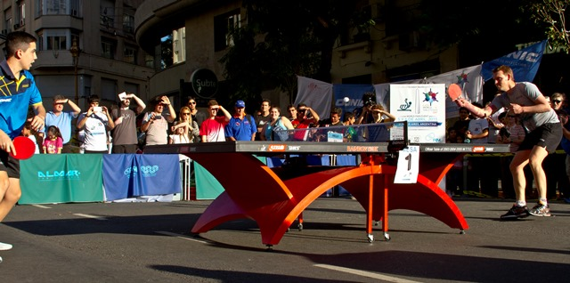 The first ever World Table Tennis Day has taken place as over 100 events were held across more than 50 countries ©ITTF