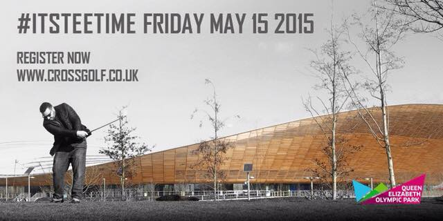 The first-ever UK Cross Golf Open will take place on the Olympic Park in London in May ©Community Golf
