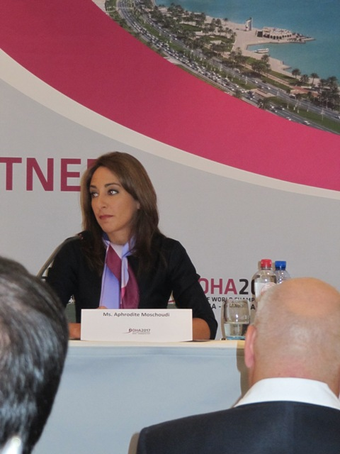 Doha_2017_press_conference_Brussels_September_16_2011_Aphrodite_Moschoudi