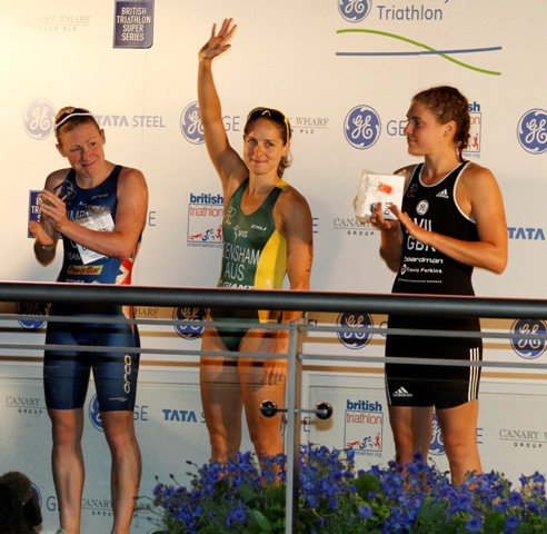 Erin_Densham_after_winning_GE_Canary_Wharf_Triathlon_June_30_2011