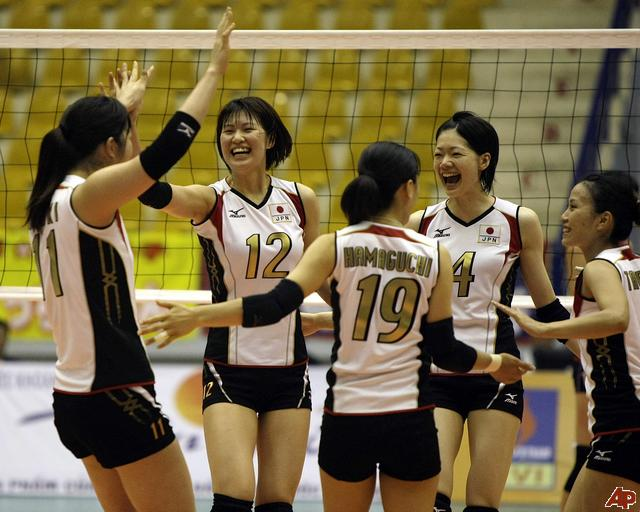 japanese womens volleyball