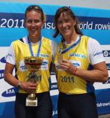 Katharine_Grainger_and_Melanie_Wilson_on_podium_World_Cup_Munich_29_2011