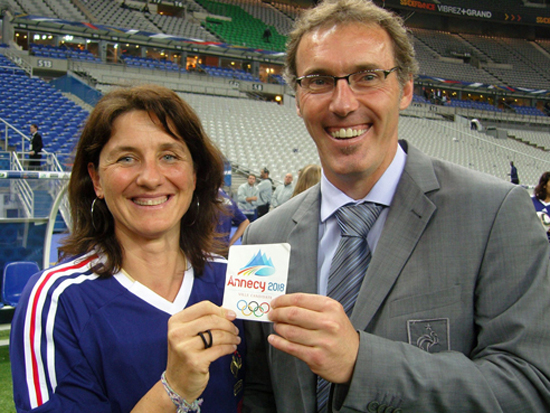 Laurent_Blanc_and_Florence_Masnada