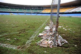 Maracana Stadium flooded