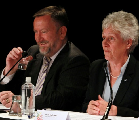 Mike_Hooper_and_Louise_Martin_Gold_Coast_Evaluation_Commission_June_20_2011
