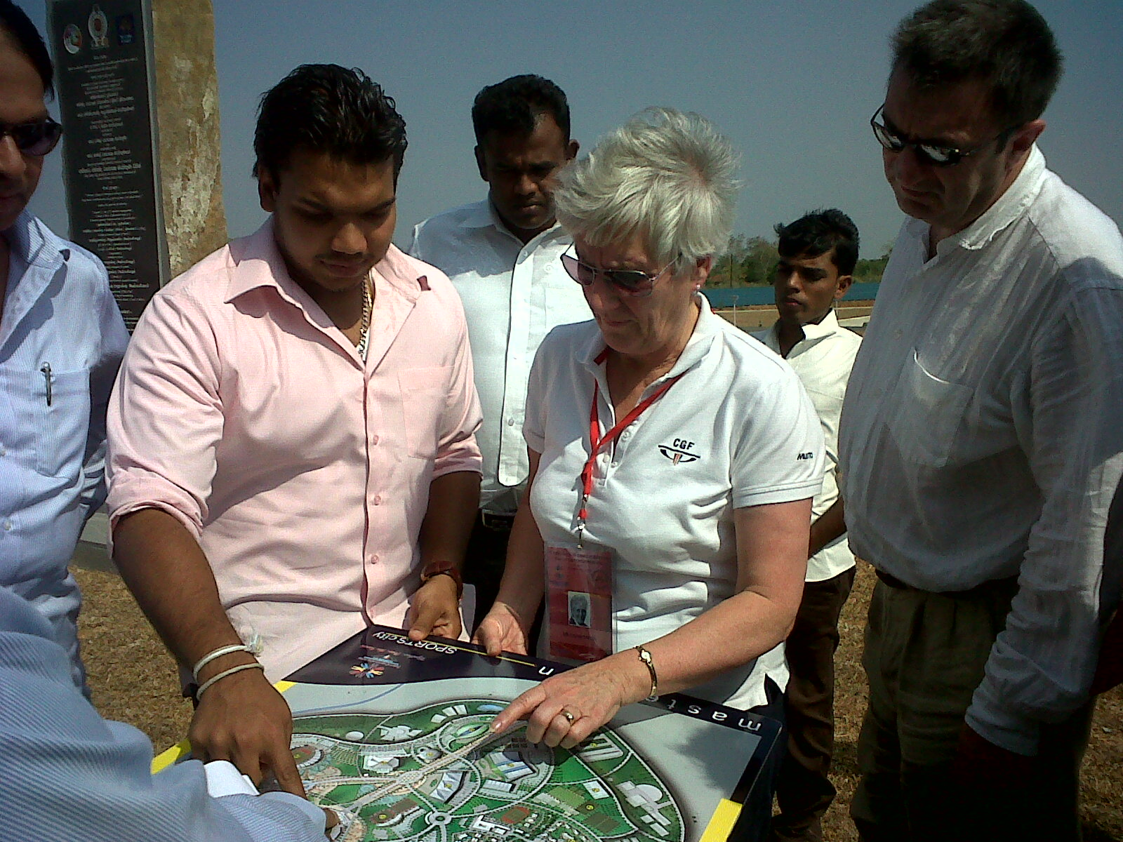 Namal_Rajapaksa_Louise_Martin_and_CGF_visit_Hambantota_28-06-11