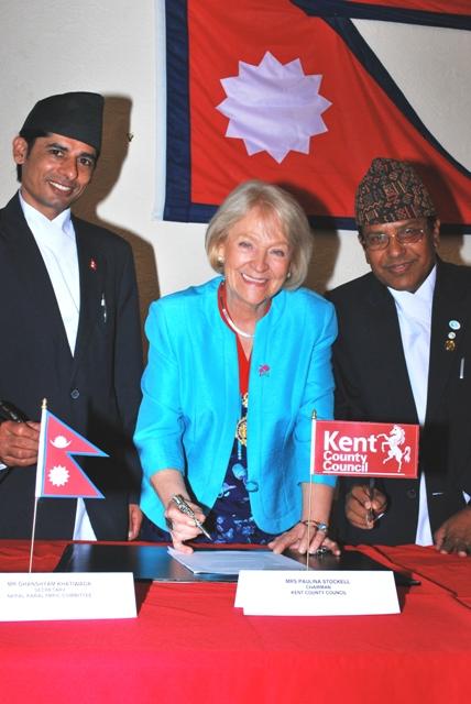 Nepal_PGTC_Signing_KCC_Chairman_Paulina_Stockell_with_Secretary_General_Pashupati_Parajuli_and_secretary_Ghanshyam_Khatiwada_