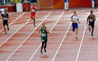 Oscar Pistorius in Beijing
