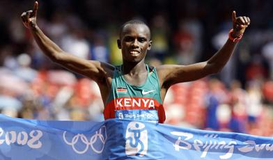 Sammy Wanjiru wins in Beijing